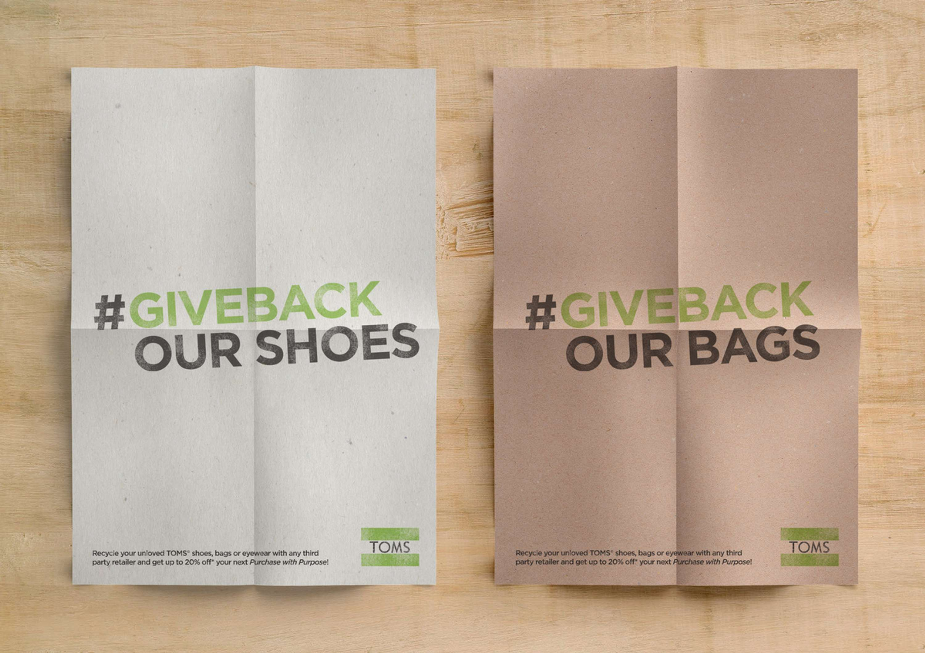 D Ad Toms Giveback Campaign